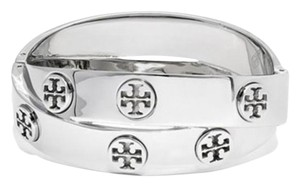Tory Burch Double Metal Logo Bracelet