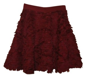 ADAM Skirt Crimson Red