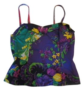Versace Top Multi purple/Green/Red/Yellow/White