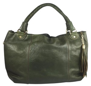 Cole Haan Satchel in Forest Green Leather