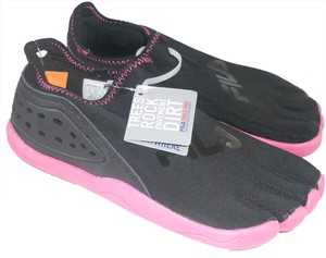 Fila black with pink Athletic