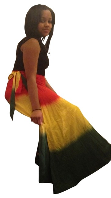 jack pot Skirt Red Green Yellow