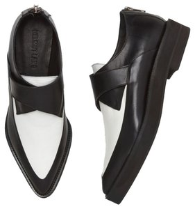 Helmut Lang Black and White Flats