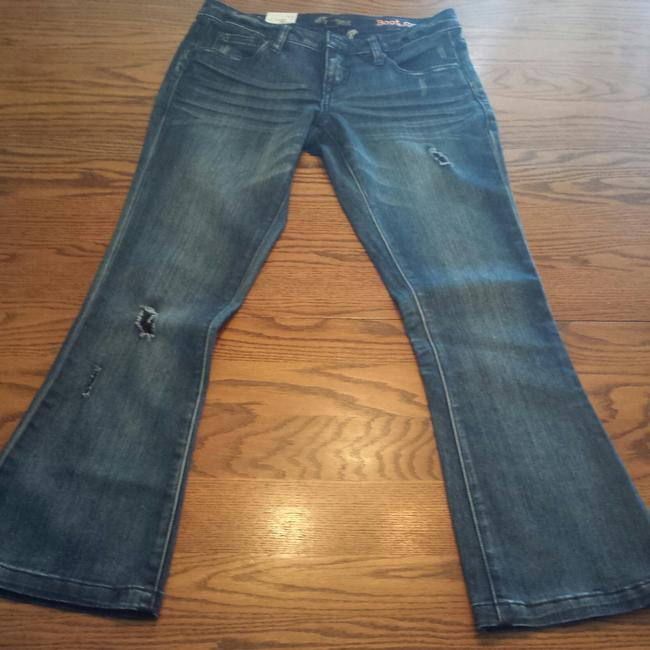 Volcom New Skater Boot Cut Jeans-Distressed