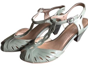 Seychelles Green Sandals