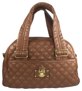Marc Jacobs Satchel in Saddle Quilted Leather
