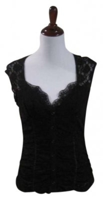 Preload https://item3.tradesy.com/images/rampage-black-fashion-night-out-top-size-12-l-180727-0-0.jpg?width=400&height=650