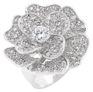 Other Cubic Zirconia Rose Cocktail Ring [SHIPS NEXT DAY]