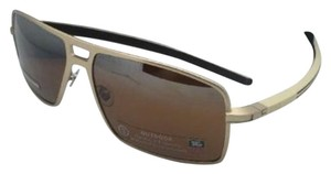 TAG Heuer New TAG HEUER Sunglasses TH 0987 203 Gold & Brown-Beige w/Brown
