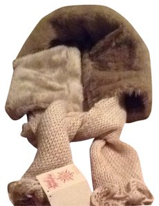 Nardi Tagliaferri Faux Fur Scarf ( Made In Italy)