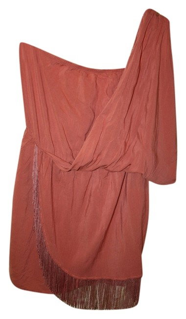 Lush Fringe One Toga Mini Dress