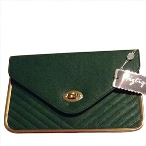 Miztique Green Clutch