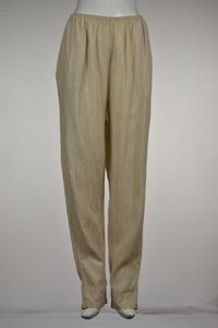 Cut Loose Womens Speckled Casual Lounge Linen Trousers Pants