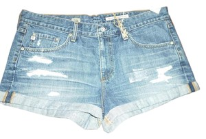 AG Adriano Goldschmied Pixie Nwt Mini Distressed Mini/Short Shorts
