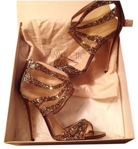 Jimmy Choo Bronze Pumps