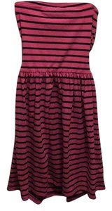 Ocean Drive Clothing short dress Pink and navy on Tradesy