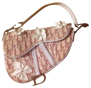 Dior Handbag Cute Floral Shoulder Bag