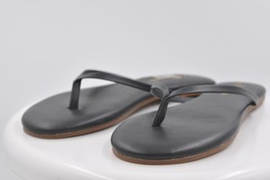 Yosi Samra Womens Thong Black Sandals
