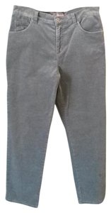 Gloria Vanderbilt Straight Pants Slate Gray
