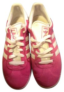 Adidas Pink White 5.5 Athletic