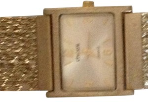 Chico's Gold bracelet-type watch