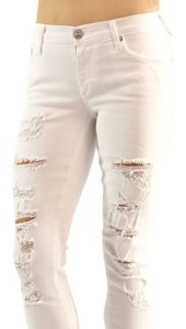 True Religion Distressed Stretchy Skinny Jeans-Acid