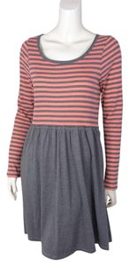 Anthropologie Striped Long Sleeve Dress
