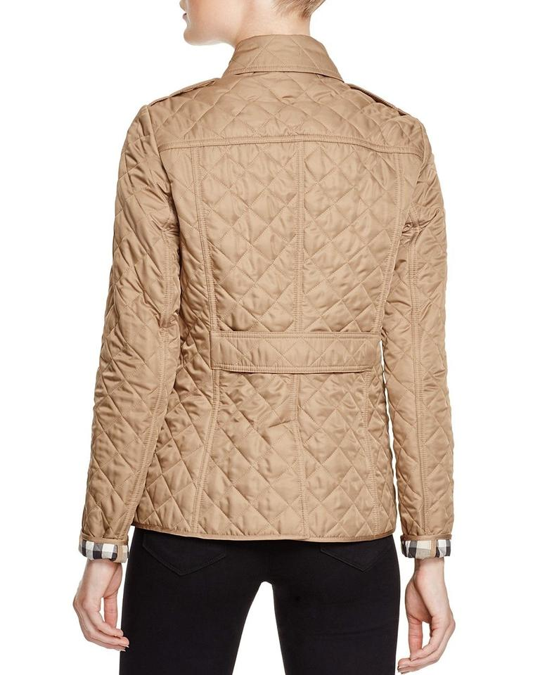 Burberry Brit Canvas Women S Copford Diamond Quilted Jacket Size 8 M 30 Off Retail