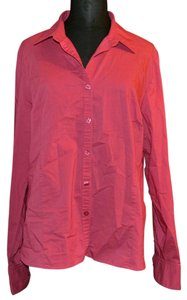 George Professional Work Wear Button Down Shirt Pink
