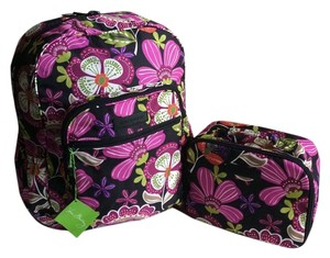 Vera Bradley Floral Lightenup Lunchmate Backpack