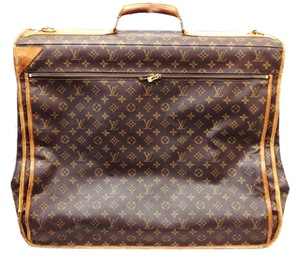 Louis Vuitton Suitcase Luggage Garment Brown Travel Bag