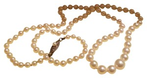 Mikimoto Beautiful Vintage Mikimoto Pearl Necklace