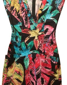 Torn by Ronny Kobo short dress Multi on Tradesy