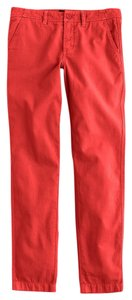 J.Crew Khaki/Chino Pants Red