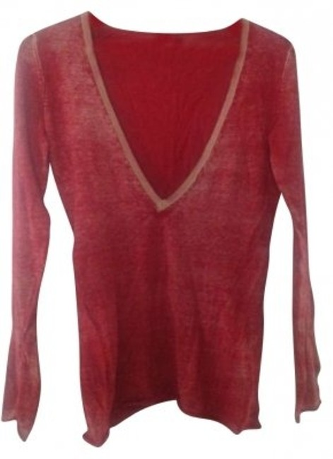 Preload https://item3.tradesy.com/images/gap-distressed-red-deep-v-neck-red-sweaterpullover-size-6-s-180822-0-0.jpg?width=400&height=650
