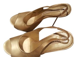 Gianmarco Lorenzi gold Sandals
