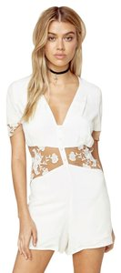 For Love & Lemons Romper Dress