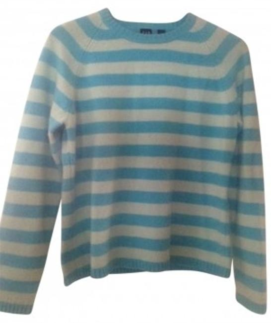 Preload https://img-static.tradesy.com/item/180826/gap-blue-stripe-sweaterpullover-size-8-m-0-0-650-650.jpg