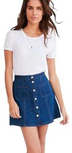 Urban Outfitters Mini Skirt Tinted denim