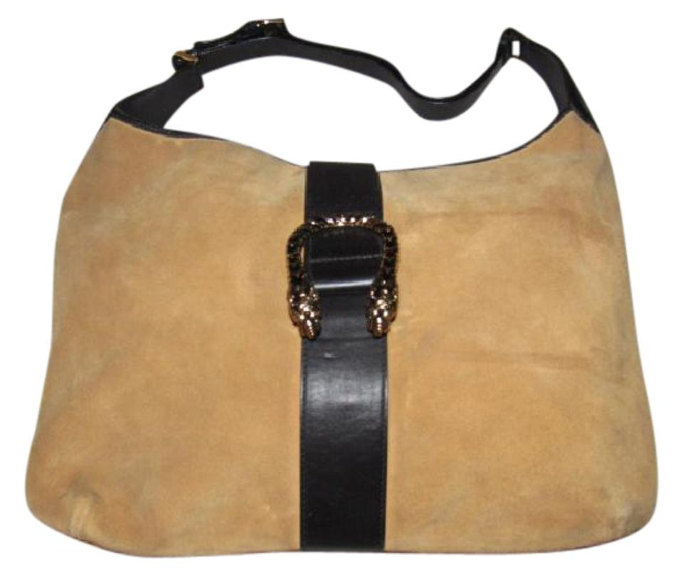 b1133570426 Gucci Mint Vintage Rare Jackie O Style Tiger Head Accent Vintage Dionysus  Early Style Hobo Bag ...