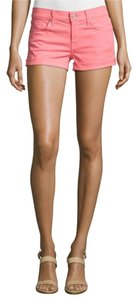 7 For All Mankind Mini/Short Shorts Sugar Coral