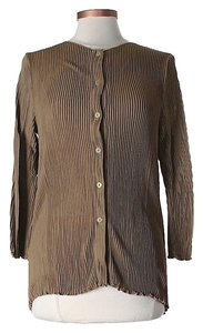 Giorgio Armani Pleated Cardigan