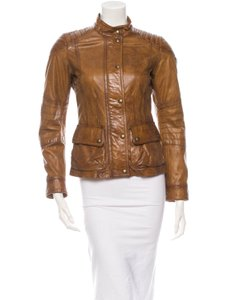 Belstaff NWT Brown Leather Jacket