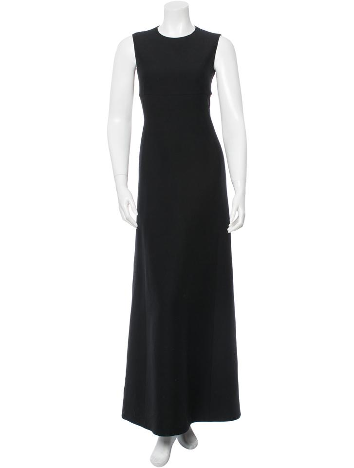 Valentino Black Sleeveless Long Formal Dress Size 0 (XS) - Tradesy