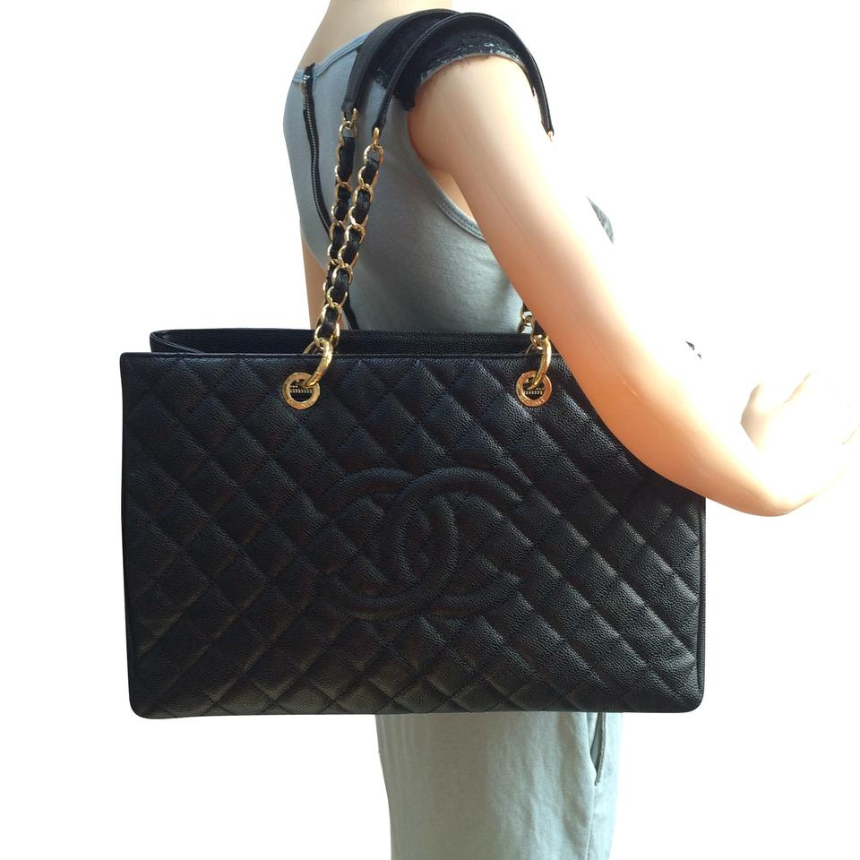 bff82af4f7a38f Chanel Caviar Xl Grand Shopping Tote Shoulder Bag Image 11. 123456789101112