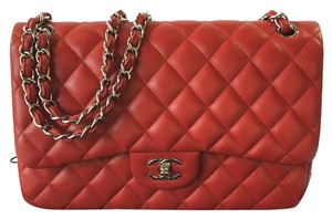 Chanel Quilted Double Flap Jumbo Shoulder Bag