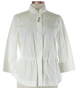 Akris Punto Casual White Jacket