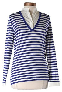 Akris Punto Striped Wool Sweater