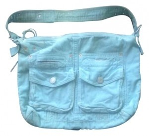 Gap Mint Messenger Bag