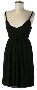 Akris Punto short dress Black Nwt Wool Pleated on Tradesy